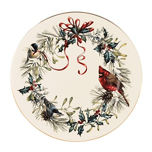Lenox 835219 Winter Greetings 6-Piece Dinner Plate Set