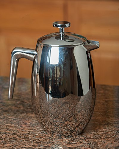 French Press Coffee Maker For Camping : FP Coffee Maker French Press Coffee Maker w/ Insulated Stainless Steel Carafe: Double walled ...