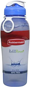 Rubbermaid - Beverage Bottle 32 Oz- 950 ml, Plastic (Colors May Vary)