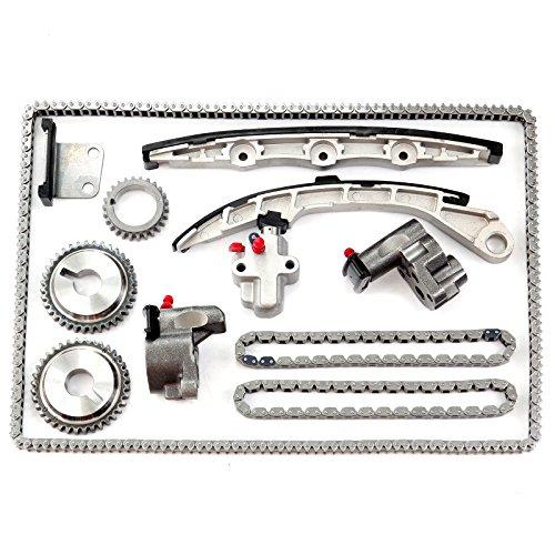 ECCPP Fits 3.5L Nissan Altima Maxima Murano Infiniti VQ35DE Engine Timing Chain Kit (Maxima Timing Chain)