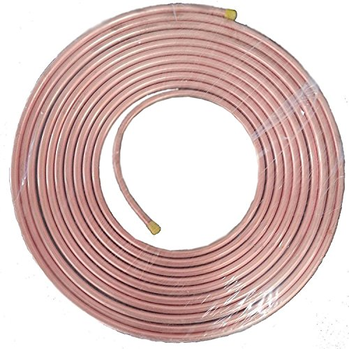 1/2 inch O.D. x 50 ft. Copper Tubing Soft Refrigeration P...