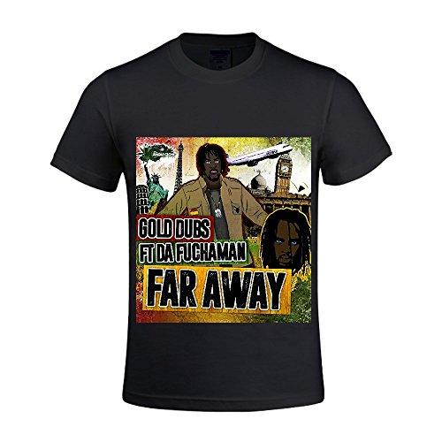 Far Away (feat. Da Fuchaman) Gold Dubs (featuring Men Crew Neck T Shirts For Men Funny (Ugg Boots Rhinestone)
