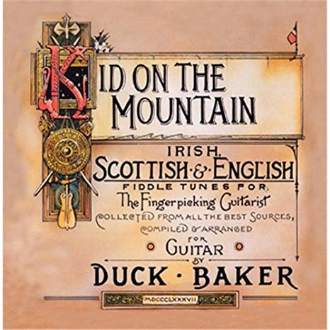 Duck Baker: Kid on the mountain. Para Guitarra, Guitarra Tablatura ...