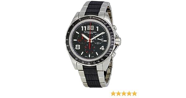 Amazon.com: Raymond Weil Sport Chronograph Black Dial Mens Watch 8520-STR-05207: Raymond Weil: Watches