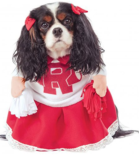 Sandy Dog Costume (Rubie's Costume Co Grease 40th Anniversary Rydell High Cheerleader Pet Costume,)