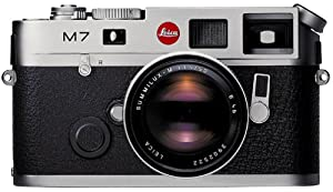 Leica M7 Rangefinder 35mm Camera w/ .72x Viewfinder, Silver (Body Only)