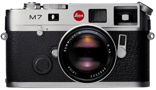 Leica-M7-Rangefinder-35mm-Camera-w-72x-Viewfinder-Silver-Body-Only