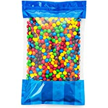 Bulk Peanut Butter M&Ms in Resealable Bomber Bag, Wholesale Peanut Candy Treats (5lb Bag)