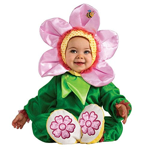 Noah's Ark Pink Pansy Flower Infant Halloween Costume 6-12 Months -