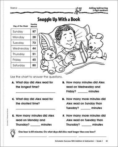 Amazon.com: Scholastic Success With: Addition & Subtraction ...