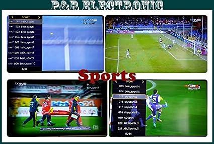 MU Mejor árabe IPTV Android TV Box, sin cuota anual, Canales Gratis HD árabes Bein Sports MBC OSN África Somalia Canal Francés Canales: Amazon.es: Electrónica