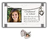 Cathedral Art GF202 Confirmation Picture Frame with Locket, 7 by 4-Inch