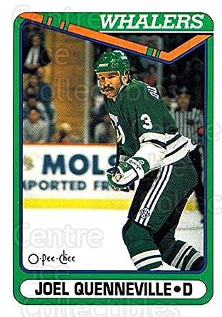 282f1d292 Amazon.com  (CI) Joel Quenneville Hockey Card 1990-91 O-Pee-Chee ...