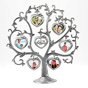 apple Tree shape ANDY HOUSEWARE Christmas apple tree Family Tree Fashion Metal Picture Frame Hanging Photo Frames Tree Love Photo Happiness Tree
