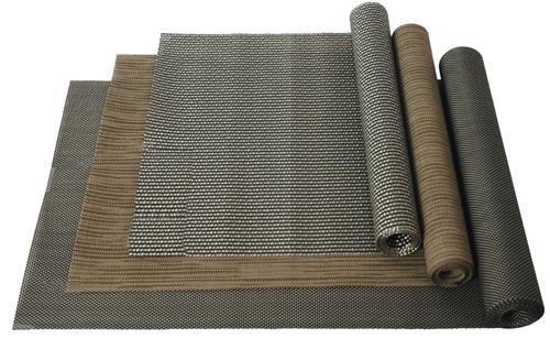 Xl Tischlaufer 40x240cm Wetterfestes Kunststoffgewebe Schwarz Grau