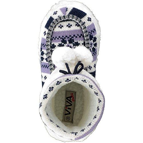 brandsseller - Zapatillas de estar por casa de Material Sintético para mujer Morado - morado