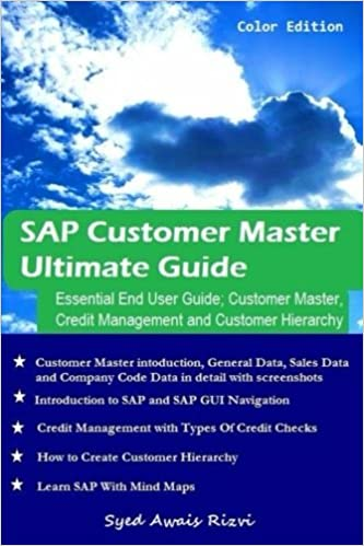 Amazon sap customer master ultimate guide essential end user amazon sap customer master ultimate guide essential end user guide customer mater credit management and customer hierarchy 9781942554103 syed fandeluxe Images