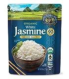 Lundberg Family Farms Organic White Jasmine Rice, Thai Hom Mali, 8 Ounce (Pack of 6)
