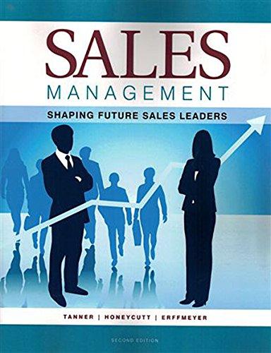 sales management tanner honeycutt erffmeyer pdf
