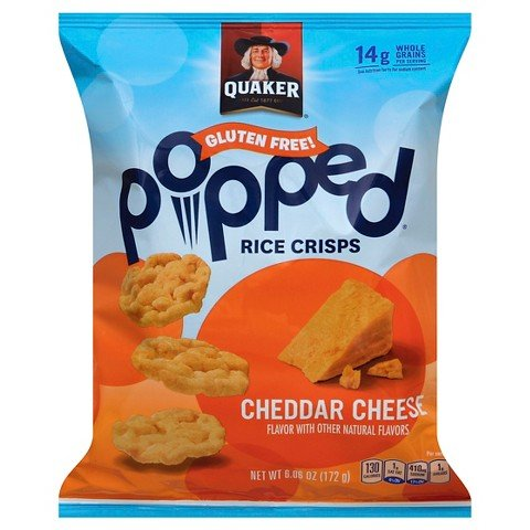 quaker popped cheese - 9
