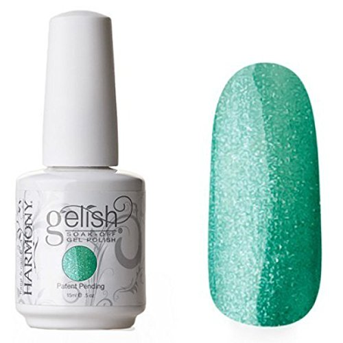 Harmony Gelish Uv Soak Off Gel Polish -Mint Icing (0.5 Oz) HMYG0165