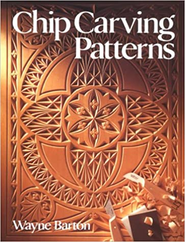 Chip Carving Patterns Wayne Barton 60 Amazon Books Cool Carving Patterns