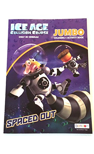 (Ice Age Collision Course Jumbo Coloring and Activity Book)