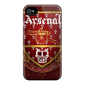 Scratch Protection Hard Phone Cover For Iphone 4/4s (MzV14611UUpl) Customized Vivid Arsenal Pictures