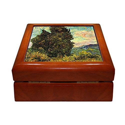 - Style in Print Cypresses (Van Gogh) 4