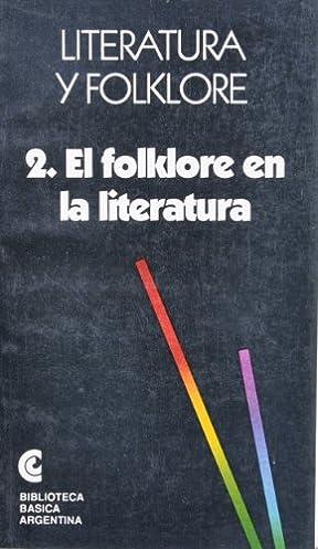 El Folklore en la literatura