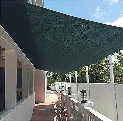 ZMXZMQ Tela De Sombra Tela De Protección Solar con Arandelas para Pabellón De Pérgola, Verde, Cortina Resistente A Los Rayos UV De Borde Cortado para Cubierta De Planta, Invernadero,3 * 4m: Amazon.es: