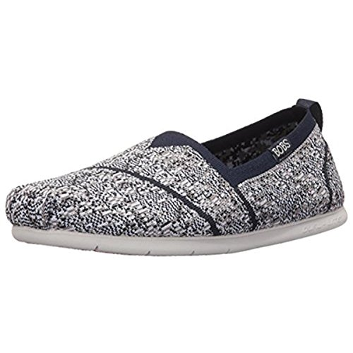 bobs-from-skechers-womens-plush-lite-tailor-made-flat-navy-gray-knit-10-m-us