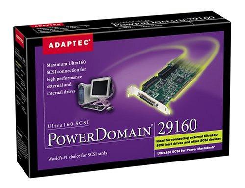 Adaptec 29160 Powerdomain Mac Kitu160 SCSI Hd68 LVD Ext Conn