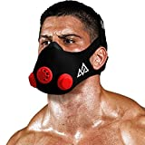 Training Mask [Original, Red, Silver, Gold] Originals Series - Elevation Workout Mask, Cardio and Endurance Mask, Fitness Mask, Breathing Resistance Mask, Running Mask (Red, Small)