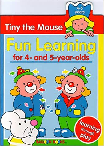 amazon tiny the mouse fun learning for 4 and 5 year olds balloon
