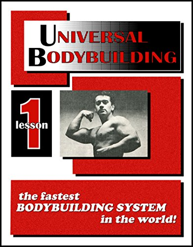 UNIVERSAL BODYBUILDING COURSE LESSON ebook product image