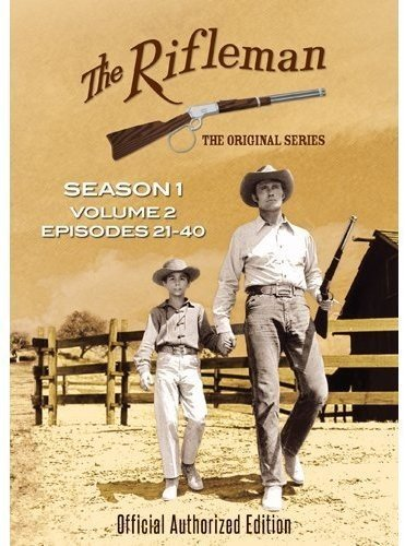 The Rifleman: Season 1 Volume 2 (Episodes 21 - 40) Paul Fix Johnny Crawford Chuck Connors Team Marketing
