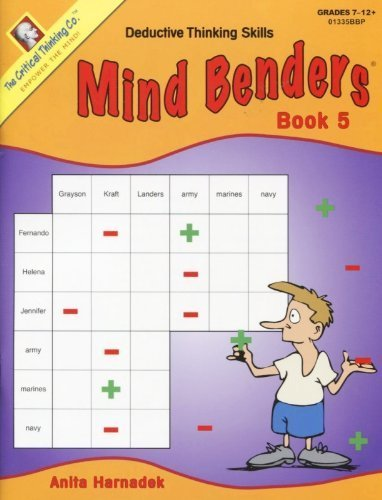 Mind Benders Book 5 (Grades 7-12+) by Anita Harnadek (2011-05-04)