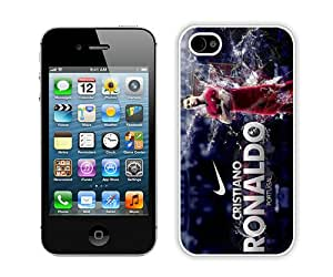 Soccer Player Cristiano Ronaldo 31 (2) Hottest Customized Design iPhone 4s Cover Case