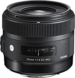 Sigma 30mm F1.4 Art Dc Hsm Lens For Canon