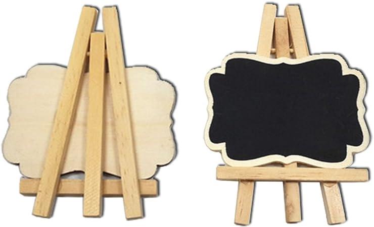 LOVIVER 10 Holz Herz Tafel Tafel Steht Hochzeit Tisch Nummer Dekor 9,5