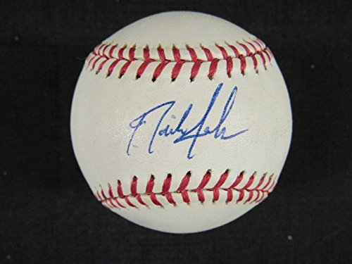 Nick Swisher Signed Ball - Rawlings B100 - Autographed Baseballs