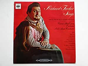 Tucker, Richard Sings Arias From Ten Verdi Operas LP CBS SBRG72336 EX/EX 1965 with Vienna State Opera Orchestra conducted by Nello Santi