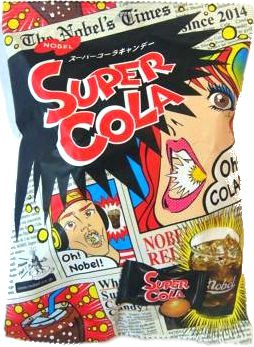 Nobel Super Soda/lemon/cola Candy, 3.1-ounce Bags (Pack of 2) [Japan Import] - Sour and Fizzy Tastes