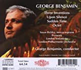 George Benjamin: Three Inventions