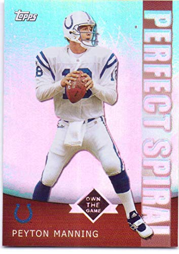 Peyton Manning 2001 Topps Own the Game #PS2 - Indianapolis Colts, Perfect Spiral