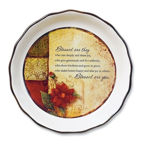 Blessed Are You Pie Plate - Plate Family Pie