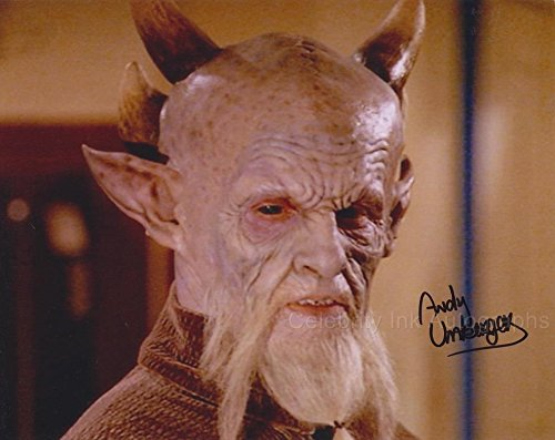 ANDY UMBERGER as D'Hoffryn - Buffy The Vampire Slayer GENUINE AUTOGRAPH