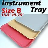 1 PC Pink Dental Instrument Tray Size B Trays