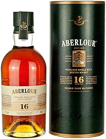 Aberlour Aberlour 16 Years Old Double Cask Matured Speyside Single Malt Scotch Whisky 40% Vol. 0,7L In Giftbox - 700 ml